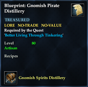 Blueprint- Gnomish Pirate Distillery
