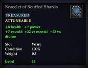Bracelet of Scuffed Shards