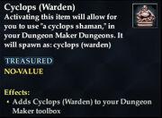 Cyclops (Warden)