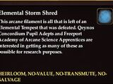 Elemental Storm Shred (Currency)