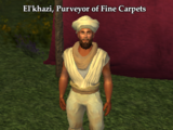 El'Khazi, Purveyor of Fine Carpets