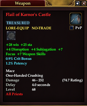 Flail of Karnor's Castle