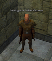 Intelligence Officer Gezlowe