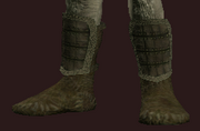 Tanned Leather Boots (Equipped)