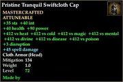 Tranquil Swiftcloth Cap