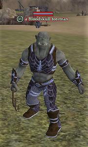 A Bloodskull foreman