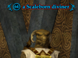 A Scaleborn diviner