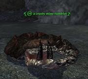 A crusty mine rumbler