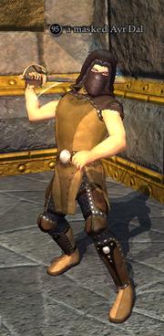 A masked Ayr'Dal