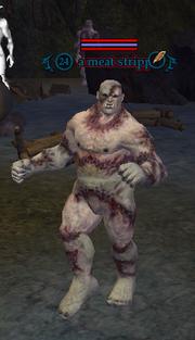 A meat stripper
