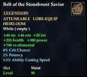 Belt of the Stonebrunt Savior
