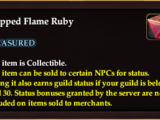 Chipped Flame Ruby