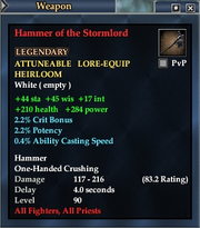 Hammer of the Stormlord