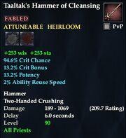 Taaltak's Hammer of Cleansing