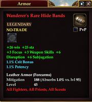 Wanderer's Rare Hide Bands