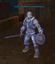 A Deathfist royal praetorian