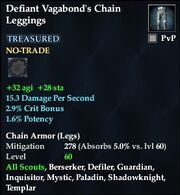 Defiant Vagabond's Chain Leggings