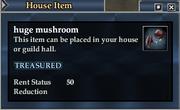 Huge mushroom