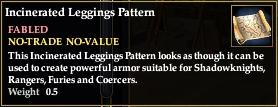 Incinerated Leggings Pattern