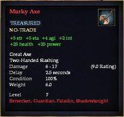 Murky Axe