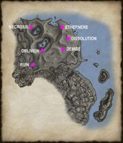 Secrets of a Used Skull map