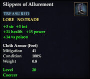 Slippers of Allurement
