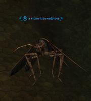 A stone hive enforcer