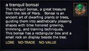 A tranquil bonsai