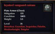Feysteel vanguard cuirass