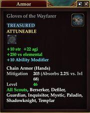 Gloves of the Wayfarer