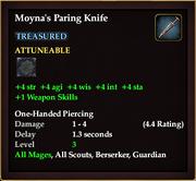 Moyna's Paring Knife