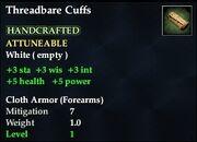 Threadbare Cuffs