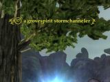 A grovespirit stormchanneler