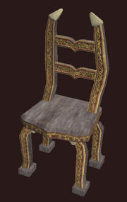 An Ornate Freeport Chair Placed