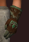 Blessed Direwood Gloves (Equipped)
