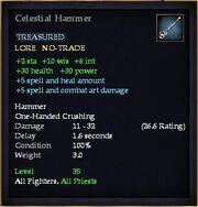Celestial Hammer