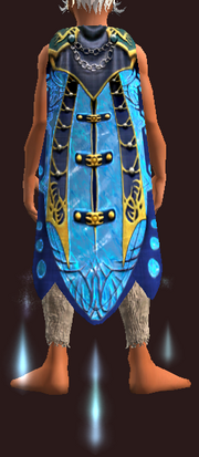 Cloak of Crystalline Waters (Mage Equipped)
