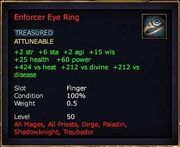 Enforcer Eye Ring
