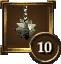 Icon Achievement morningstar 10