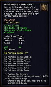 Jale Phlintoe's Wildfire Tunic