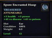 Spore Encrusted Hoop