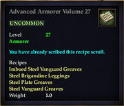 Advanced Armorer Volume 27