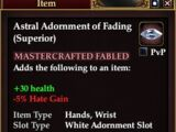Astral Adornment of Fading (Superior)