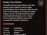 Deadly Terra-Widow
