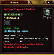 Feyiron Vanguard Barbute