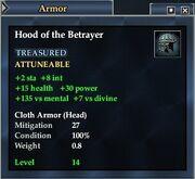 Hood of the Betrayer