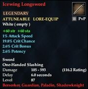 Icewing Longsword