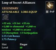 Loop of Secret Alliances