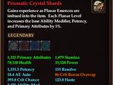 Prismatic Crystal Shards