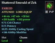 Shattered Emerald of Zek